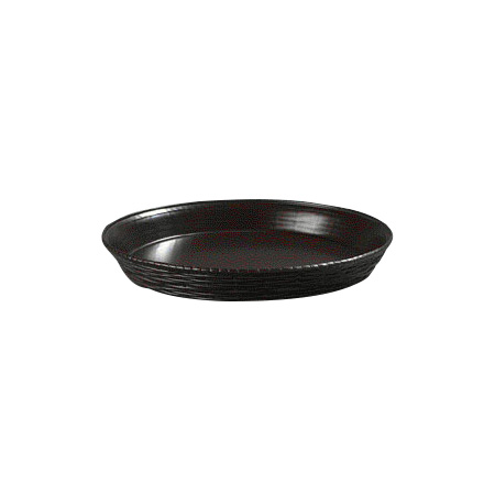 "Carlisle 652601 12"" Round Bread Basket - Polypropylene, Brown"