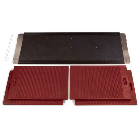Carlisle 661605 6' Storage Kit - SixStar Food Bar, Red