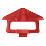 Carlisle 668405 Sneeze Guard Post - SixStar Food Bar, Red