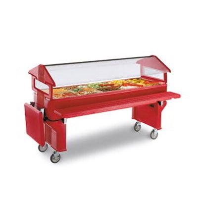 Carlisle 668805 Youth Food Bar Leg - Red