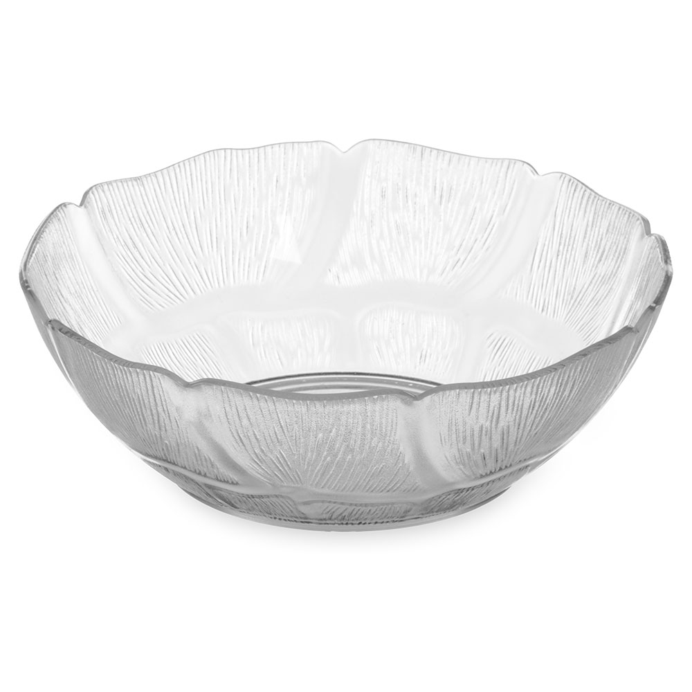 Carlisle 690407 Petal Mist Bowl - 6 in- 18oz  - Clear