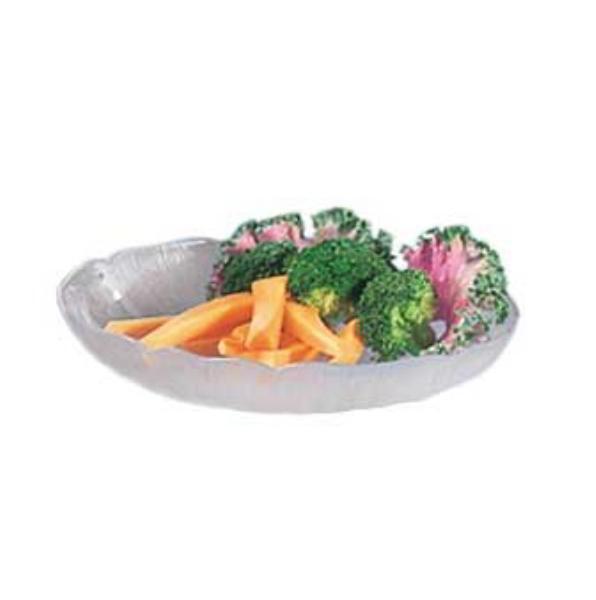 Carlisle 6907W Petal Mist Salad Plate - 8 in  - 24oz - Clear