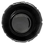 "Carlisle 693103 9.75"" Round Serving Bowl w/ 3.4-qt Capacity, Polycarbonate, Black"