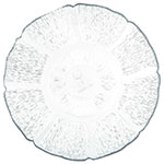 """Carlisle 695407 7.5"""" Round Plate - Polycarbonate, Clear"""