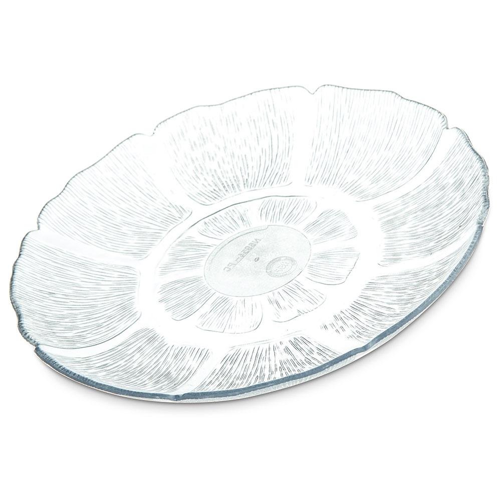 Carlisle 695407 Petal Mist Dessert Plate - 7.5 in - Clear