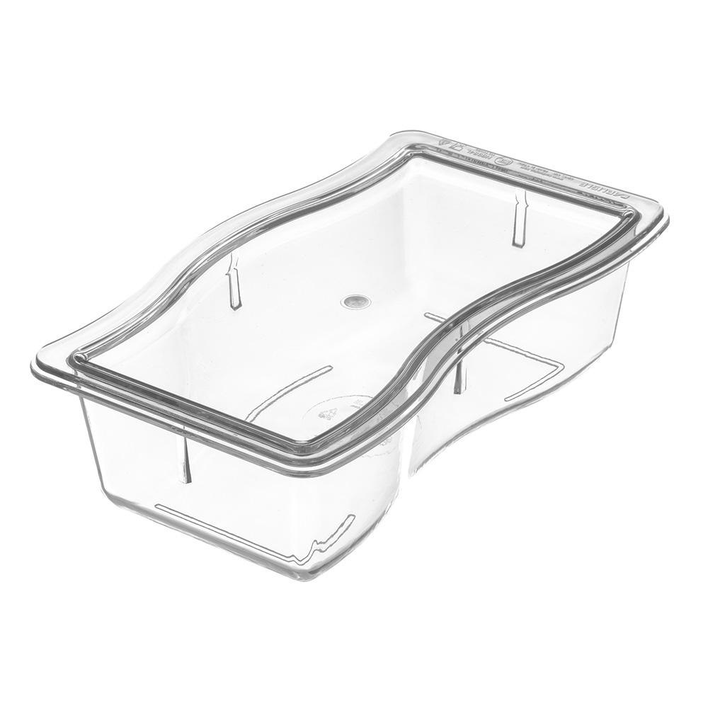 Carlisle 6984L07 Half Size Food Pan Lid - Polycarbonate, Clear