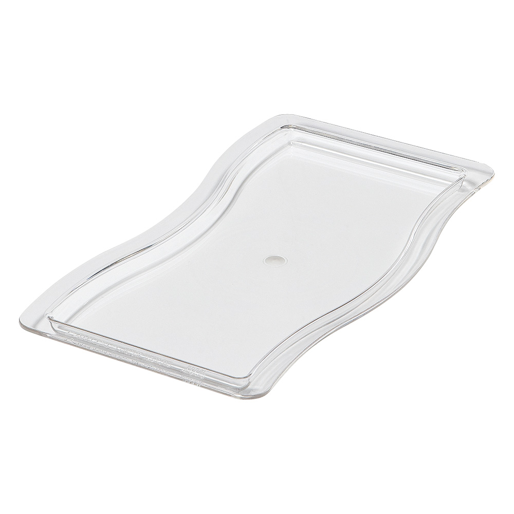 Carlisle 6984L07 Half-Size Displayware Pan Lid - Clear