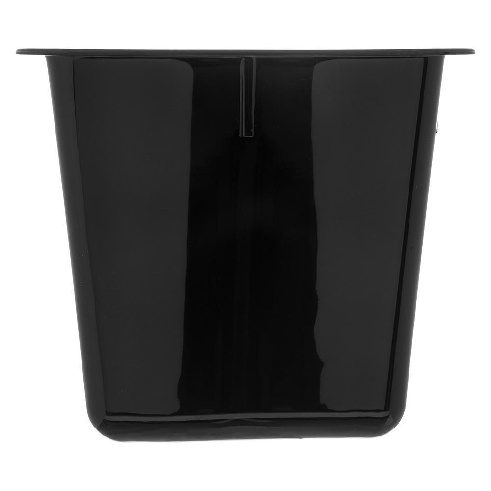 Carlisle 6986603 Third Size Food Pan - Polycarbonate, Black