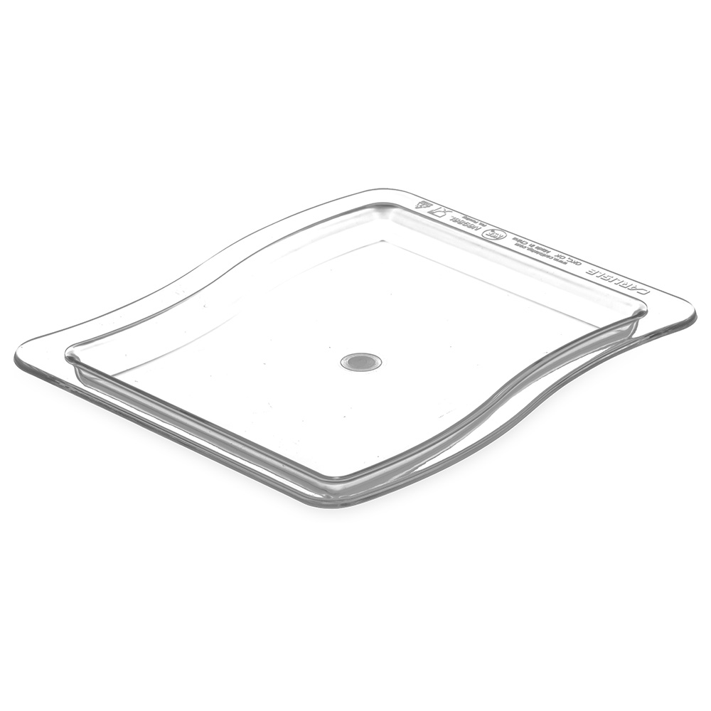 Carlisle 6986L07 Third Size Food Pan - Polycarbonate, Clear