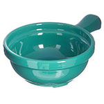 Carlisle 700609 8-oz Handled Soup Bowl -  Meadow Green