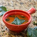 """Carlisle 700652 4.625"""" Round Handled Soup Bowl w/ 8-oz Capacity, Plastic, Sunset Orange"""