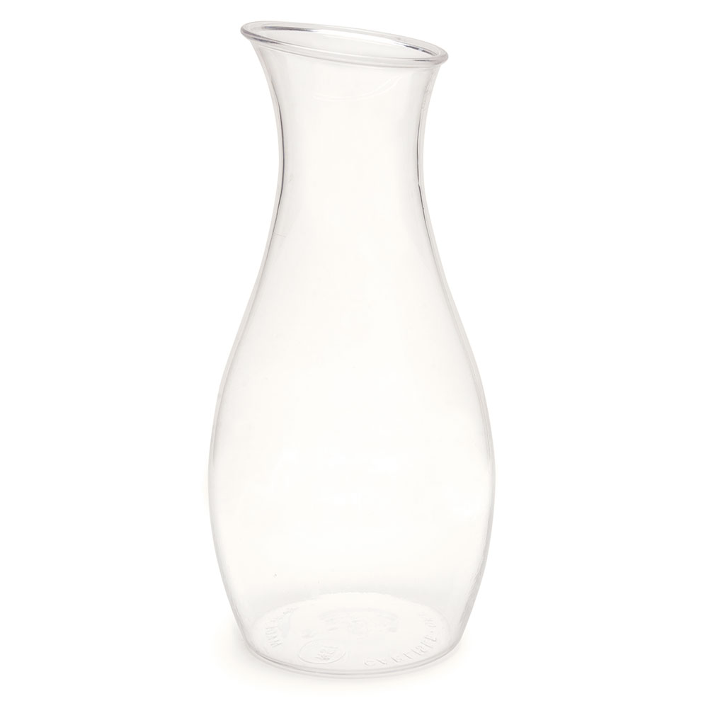 Carlisle 7090307 Carafe w/ 1-1/2-liter Capacity - Drip Free Pour, Polycarbonate, Clear