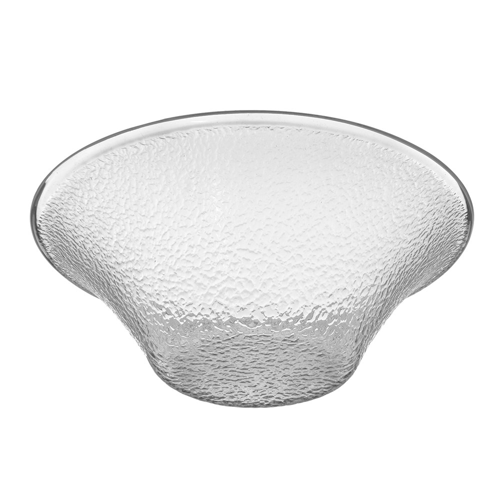 "Carlisle 732507 11.25"" Round Bell Bowl w/ 3.3-qt Capacity, Polycarbonate, Clear"