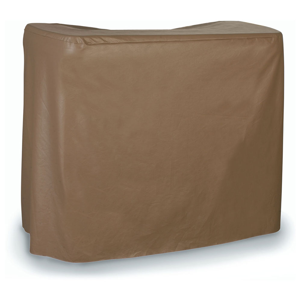 Carlisle 755580 Maximizer Bar Cover, 8 Gauge Vinyl, Double Vented Back, Velcro Secure