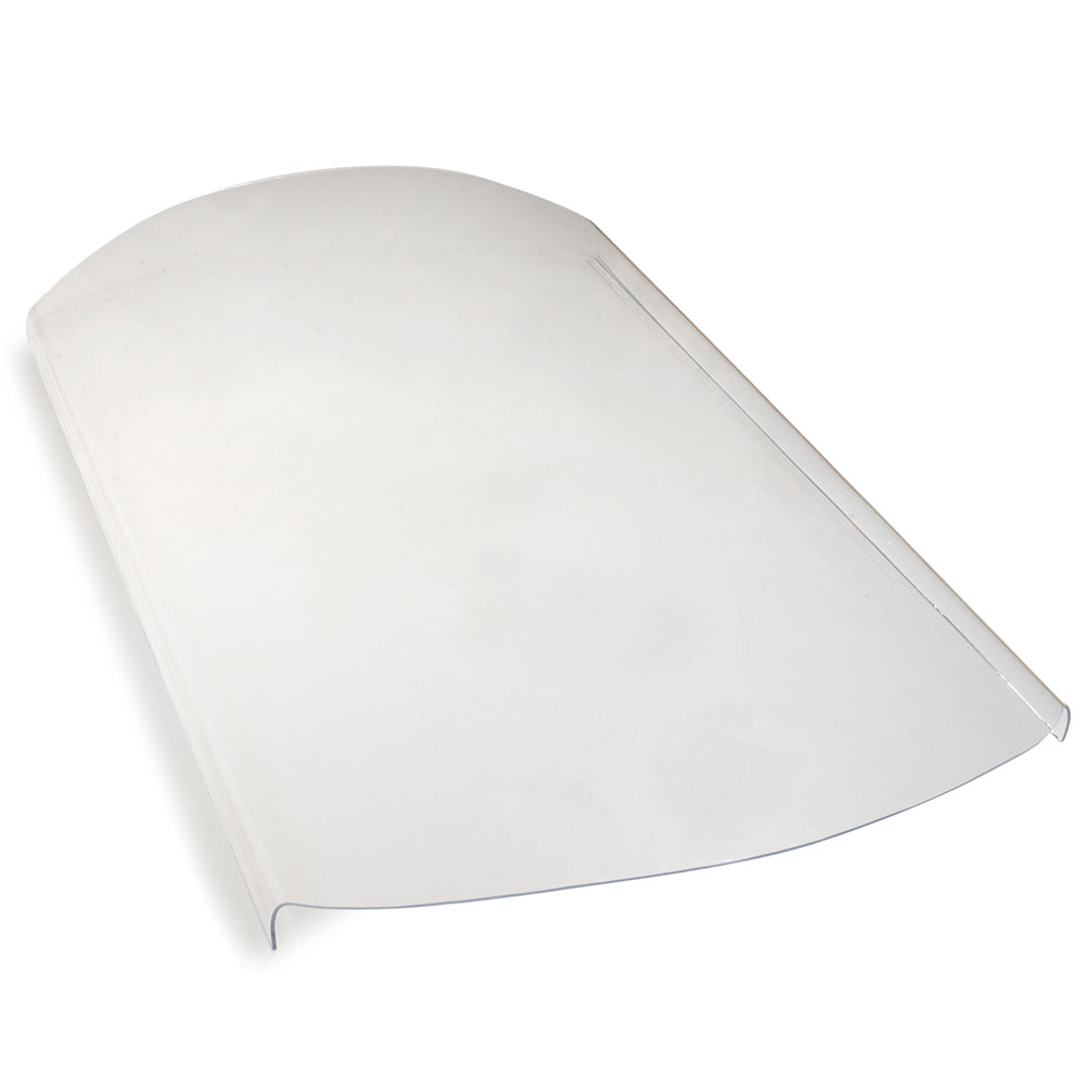Carlisle 775007 Side Shield Replacement Part - Sneeze Guard Shield, Acrylic, Clear