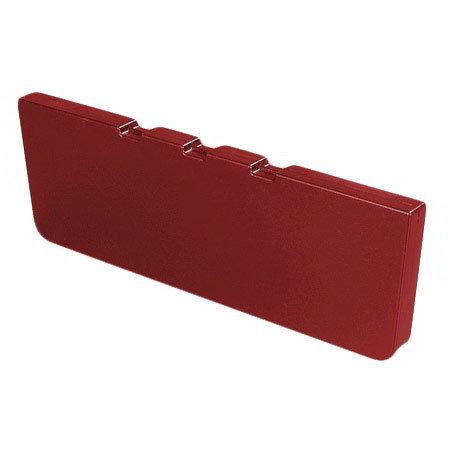 Carlisle 775405 Food Bar Basin Divider - Red
