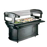 Carlisle 775600 6' Support Rod - Food Bar, Black