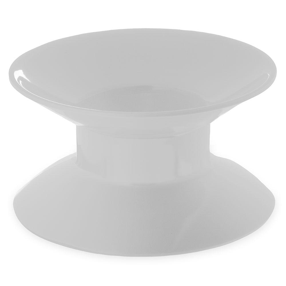 """Carlisle 790002 2-3/4"""" Palette Designer Plate Stand - Melamine, White"""