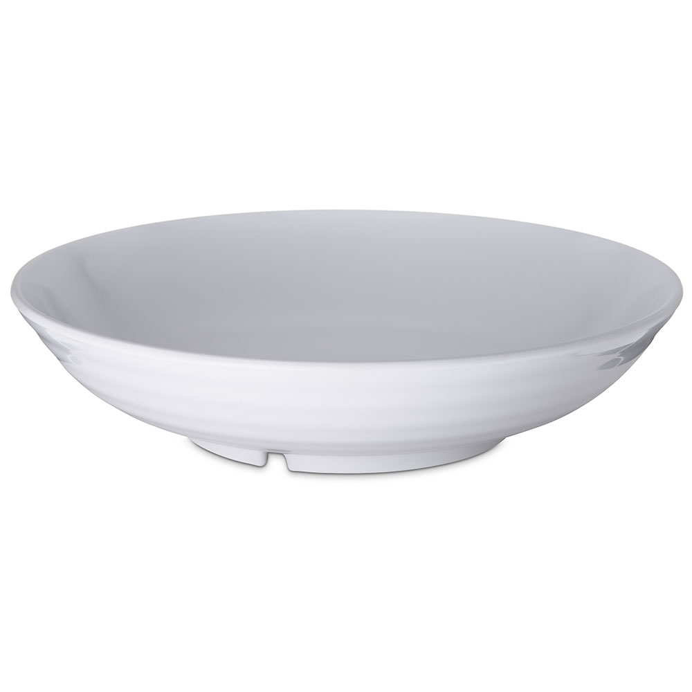 Carlisle Food Service 791002 Designer Displayware 5-lb Pasta Bowl NSF White Restaurant Supply