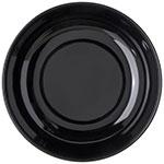 "Carlisle 791003 10.5"" Round Pasta Bowl w/ 80-oz Capacity, Melamine, Black"