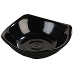 Carlisle 794003 2-oz Square Side Dish - Melamine, Black
