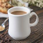 Carlisle 800402 8-oz Diablo Coffee Mug - White
