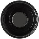 "Carlisle 803803 8"" Round Bowl w/ 2-qt Capacity, Acrylic, Black"