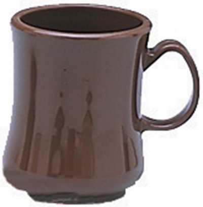 Carlisle 810401 Coffee Mug - 8 oz. - Brown