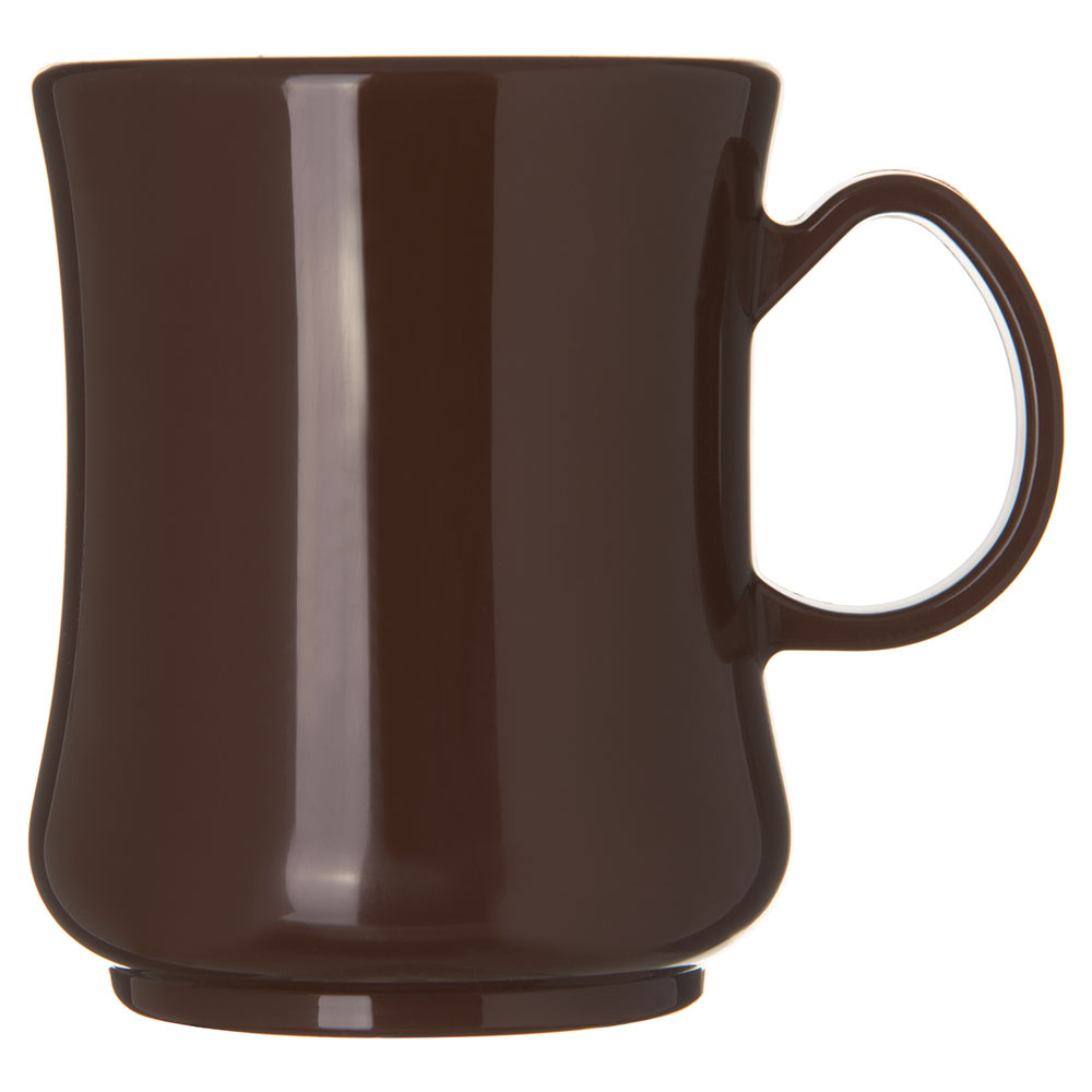 Carlisle 810401 8-oz Coffee Mug - Polypropylene, Brown