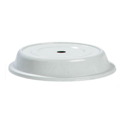"Carlisle 91080203 10-1/2"" to 10-3/4"" Plate Cover - Polyglass, Gray"