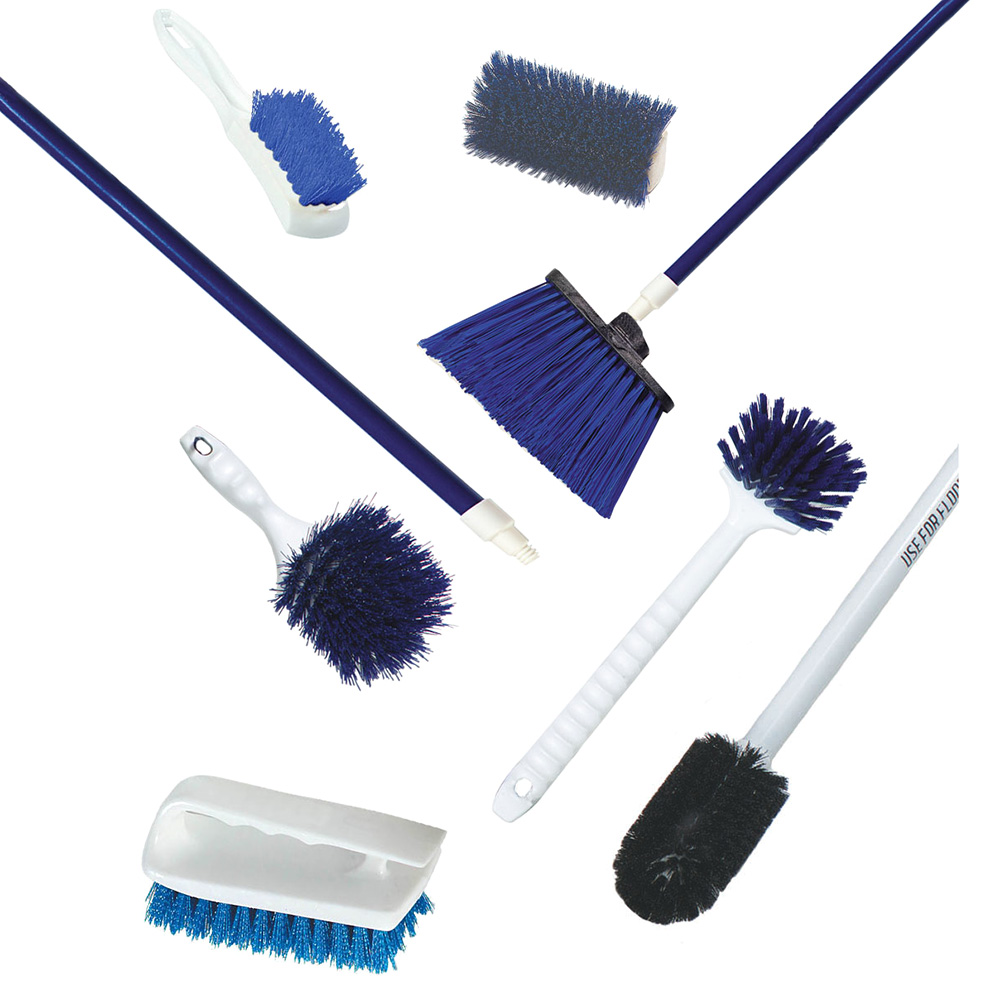 Carlisle 991109 Seafood Cleaning Kit - Blue