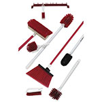 Carlisle 991129 Meat Cleaning Kit - Red