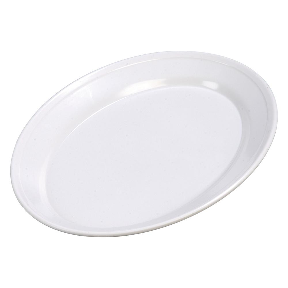 """Carlisle ARR11202 Oval Platter - 14-3/4x10-1/2"""" Melamine, White"""
