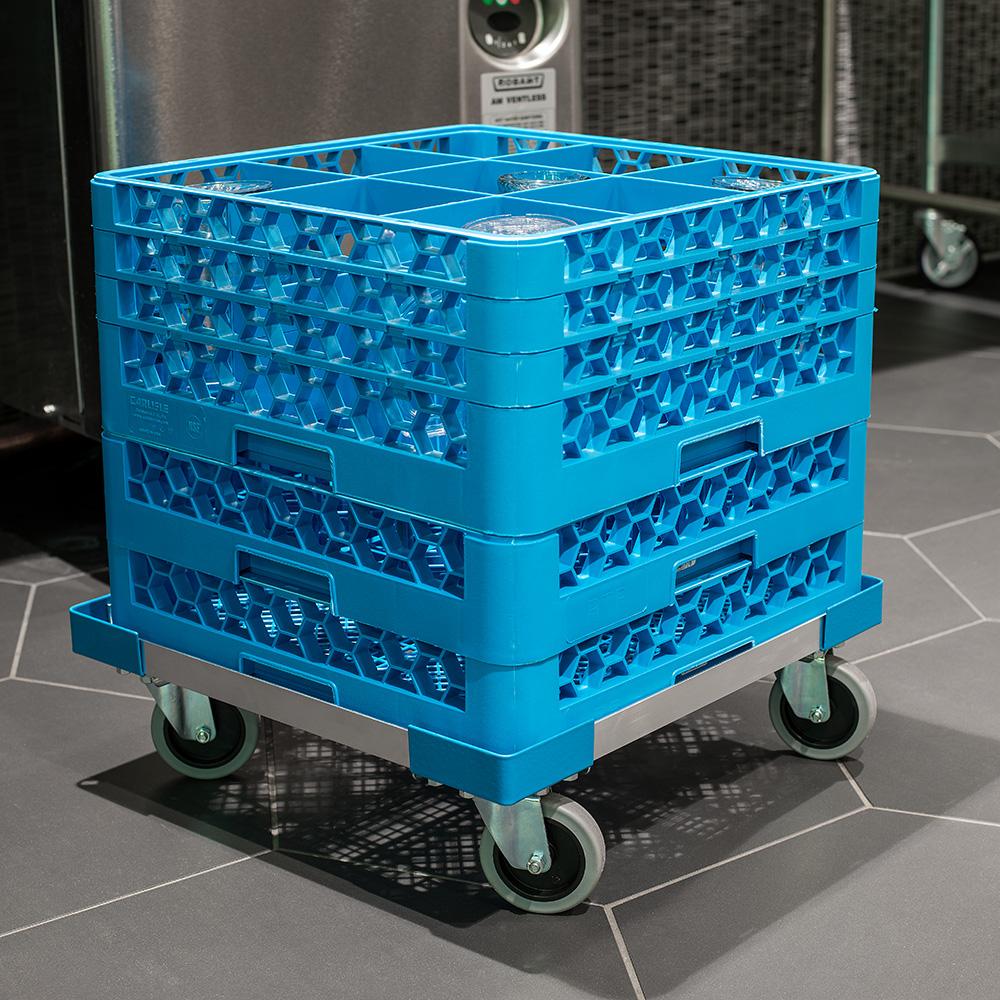 Carlisle C2220A14 Dolly for Dishwasher Racks w/ 300-lb Capacity