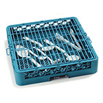 "Carlisle C9314 17-7/8"" Square Hold Down Grid - Vinyl Coated Wire, Blue"