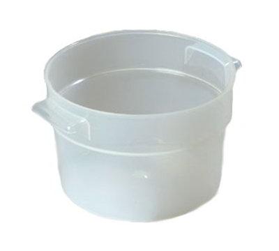 Carlisle 020530 2-qt Round Bain Marie Container - Translucent