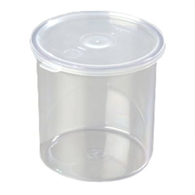 Carlisle 030107 1.2-qt Classic Crock - Snap-On Lid,  Clear