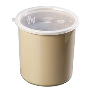 Carlisle Food Service 034206 2.7-qt Crock w/ Lid Polypropylene NSF Beige Restaurant Supply