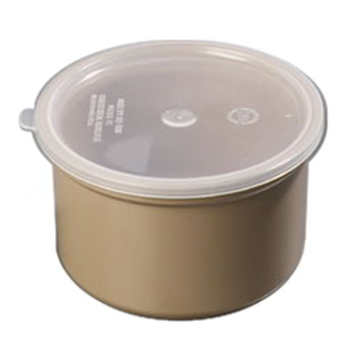 Carlisle 031606 1.5-qt Classic Crock - Snap-On Lid,  Beige