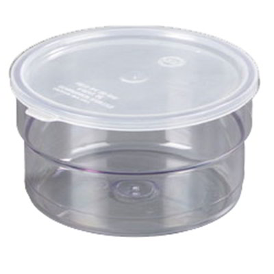 Carlisle 036507 1.5-qt Supreme Crock - Snap-On Lid, Clear