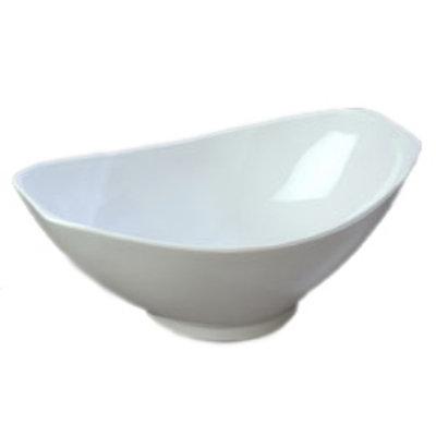 Carlisle 041102 4-qt Scoop Bowl, SAN, White