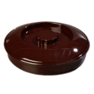 Carlisle 047001 7-1/2-in Tortilla Server w/ Lid, Polycarbonate, NSF, Brown