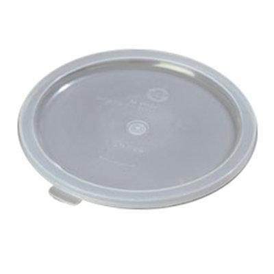 Carlisle 060230 Bain Marie Food Storage Lid, 6 & 8-qt, Polyethylene, Translucent