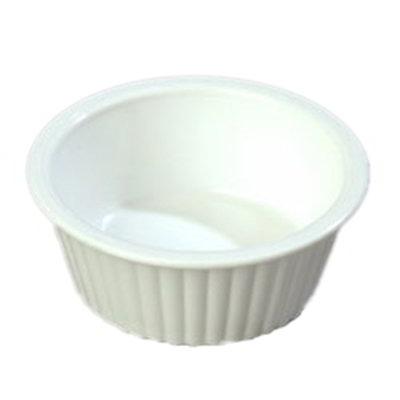 Carlisle 0844-02 2-oz Fluted Ramekin - White
