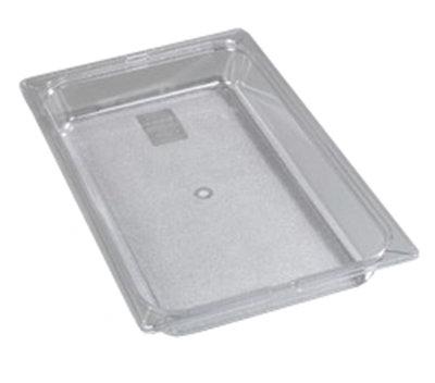 "Carlisle 1020003 Full Size Food Pan - 2-1/2""D, Black"