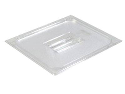 Carlisle 10230U07 Universal Half Size Food Pan Solid Lid - Clear
