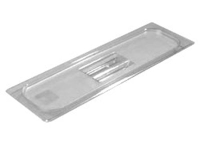 Carlisle 10250U07 Universal Half Size-Long Food Pan Lid - Clear