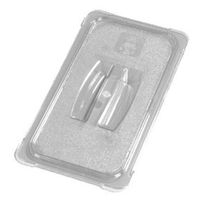 Carlisle 10270U07 Universal 1/3 Size Food Pan Solid Lid - Clear