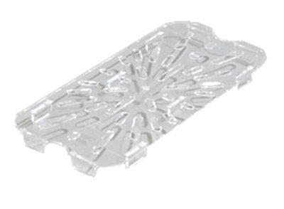 Carlisle 1027507 1/3 Size Drain Shelf - Clear