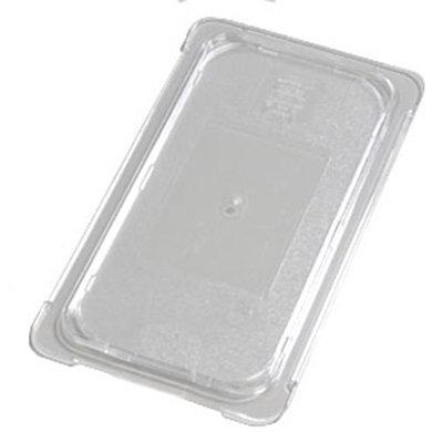 Carlisle 10276U07 Universal 1/3 Size Food Pan Lid - Flat, Clear